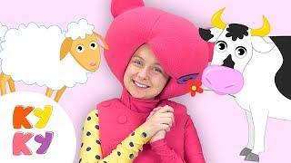 кУКУТИКИ - КРЯ КРЯ - Большой Сборник Песни про Животных для Детей Мультики