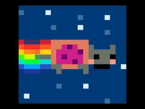 Nyan cat 8-bit