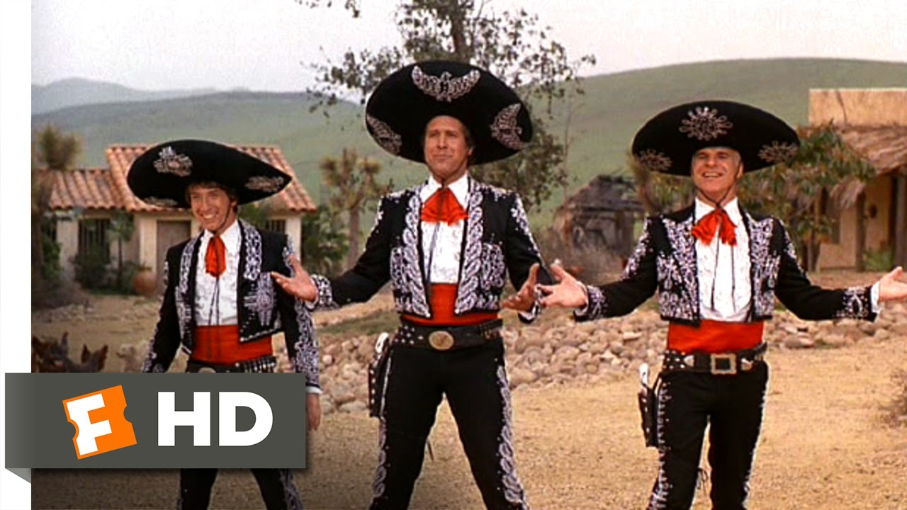 three amigos 512 movie clip three amigo salute 1986 hd youtube