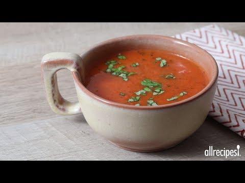 How to Make Roasted Tomato Soup | Soup Recipes | Allrecipes.com