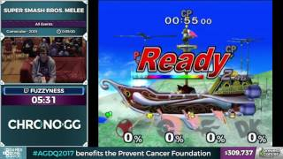 Super Smash Bros. Melee by fuzzyness in 37:42 - Awesome Games Done Quick 2017 - Part 57