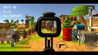 Wild Zoo Animals Hunting City #9 (Level 9-12) - Android Gameplay
