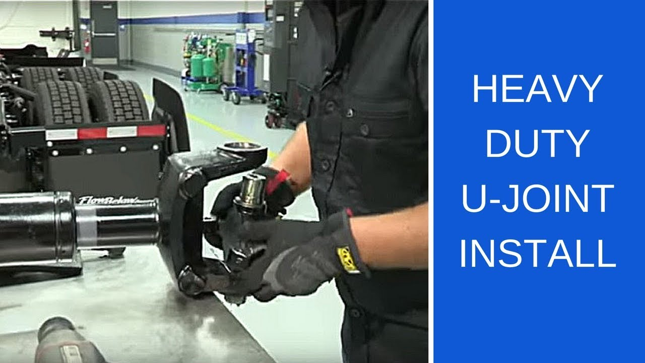 How To Get Ase Certified >> How to install an SKF Heavy Duty U-joint - YouTube