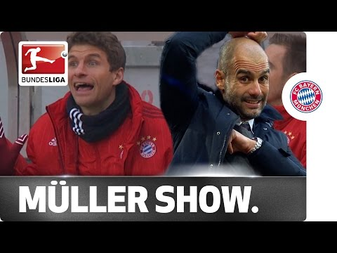Thomas Müller's Day Off - Top Entertainment from the Bench