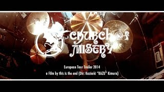 CHURCH OF MISERY / European Tour 2014 Trailer