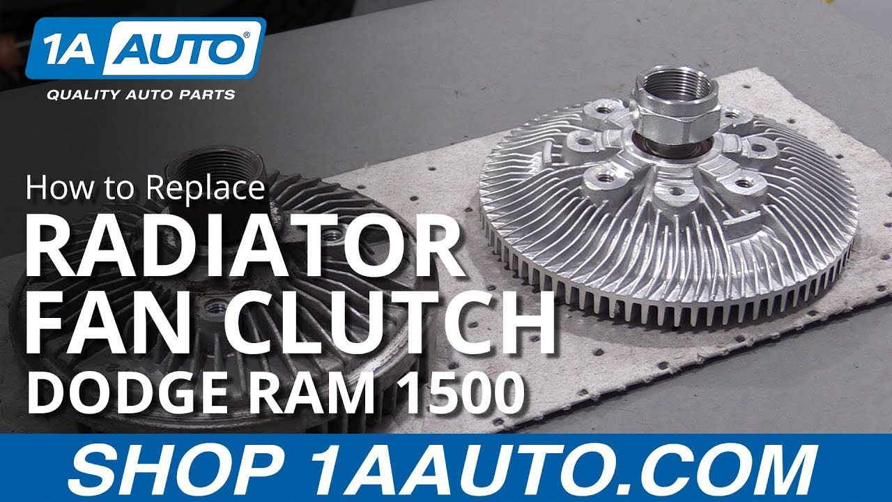 How To Replace Fan Clutch 94 02 Dodge Ram 1500 Youtube