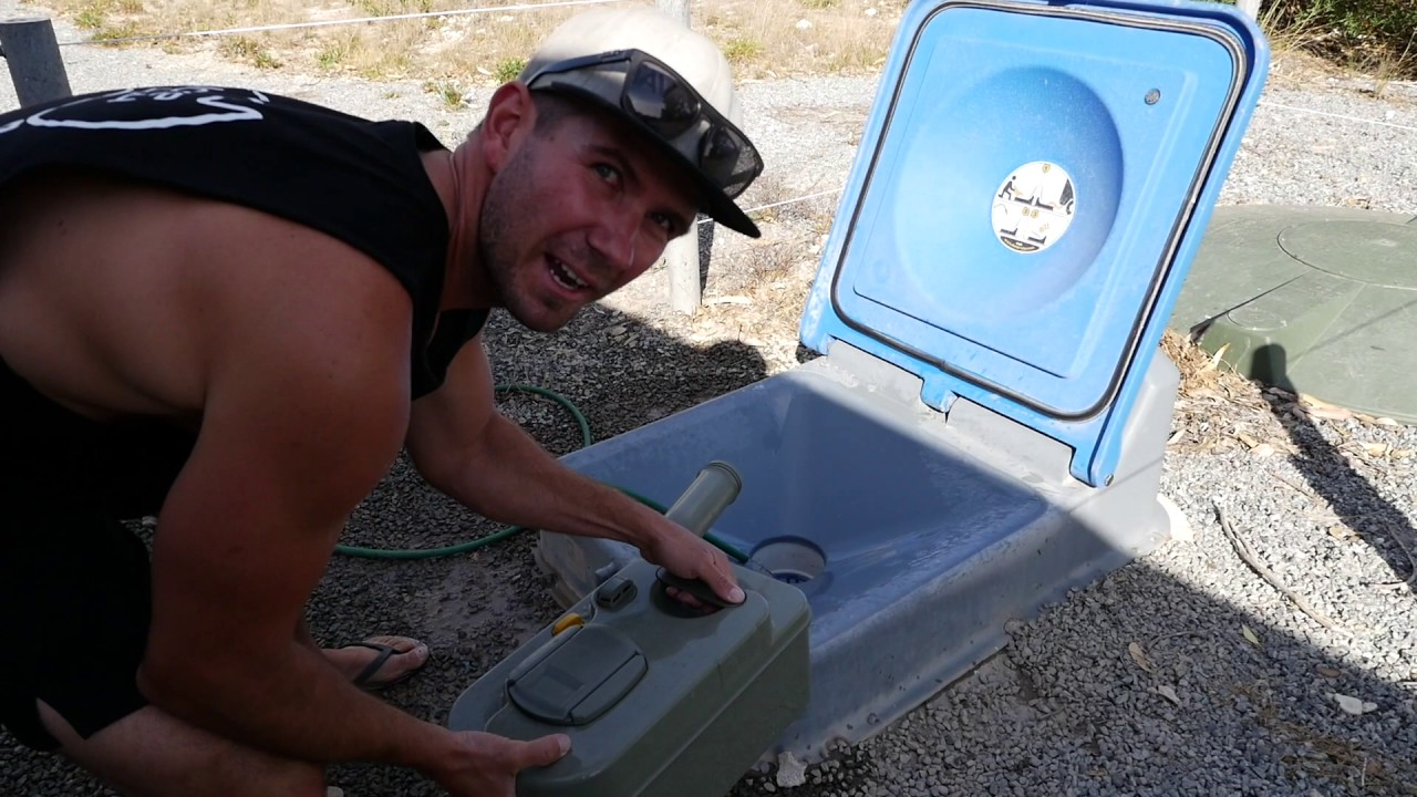 How To Empty Your Caravan Toilet