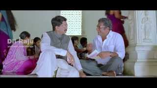 Prakash Raj, Murali Mohan Temple Scene from SVSC | Mahesh Babu, Venkatesh, Samantha, Anjali