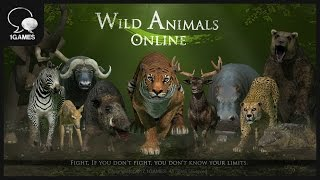Animals Action Game, Wild Animals Online Trailer Video