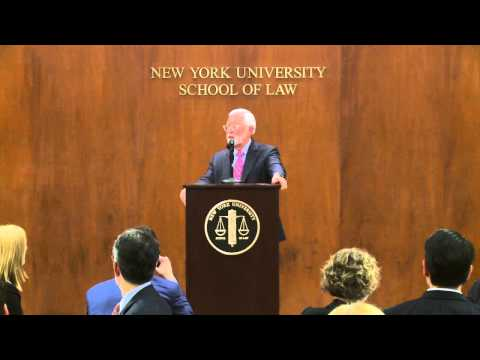 Conference on Corporate Crime and Financial Misdealing: US District Judge Jed Rakoff