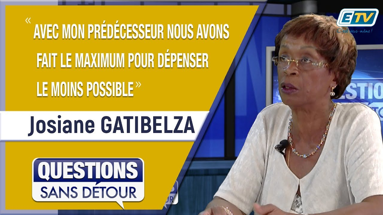 Questions Sans Détour avec Josiane GATIBELZA
