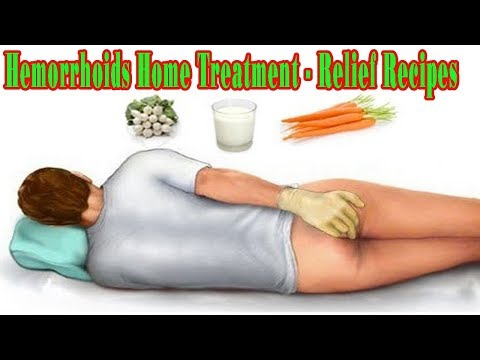 Hemorrhoids Home Treatment  - Relief Recipes - Natural Health Cures