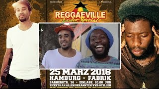 Patrice & Iba Mahr @ Reggaeville Easter Special 2016 in Hamburg - March 25th