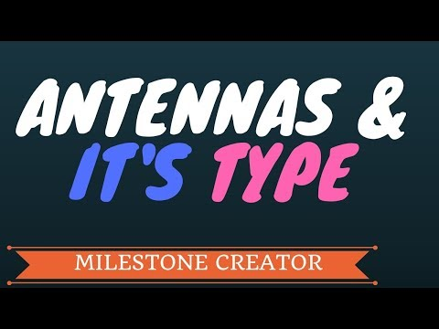 ANTENNA AND IT'S TYPES IN HINDI
