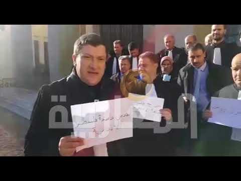 محامو باتنة شرقي الجزائر يتضامنون مع القدس عاصمة أبدية لفلسطين