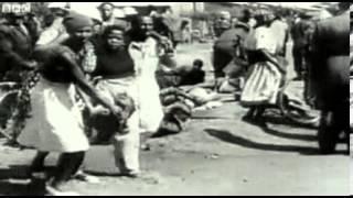 Nelson Mandela's first international speech (BBC)