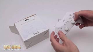 Manette classique pro blanche pour Nintendo Wii - store.logic-sunrise.com