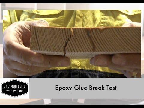 West Systems Epoxy Strength Test - Tidbits 01