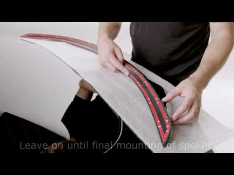 How to install Tesla Model S Rear Spoiler