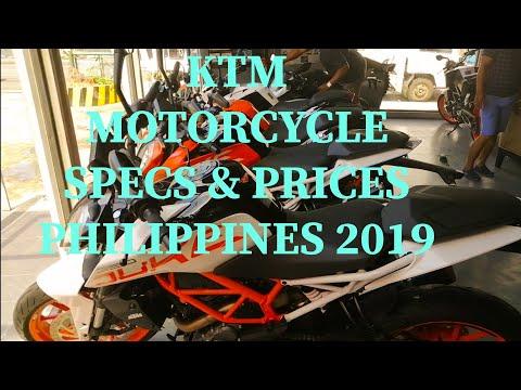 KTM  MOTORCYCLE PRICE & SPECS  PHILIPPINES 2019