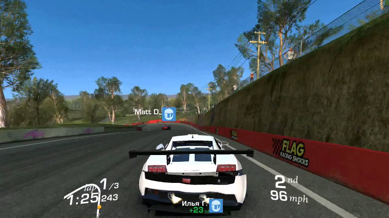 Lamborghini Gallardo LP560 GT3 Real Racing 3