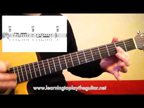 Open String Major Guitar Chord Variations
