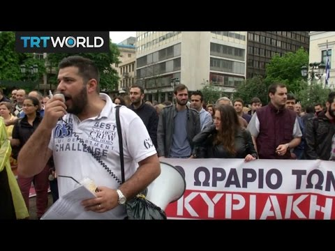 Money Talks: Thousands protest austerity measures in Greece