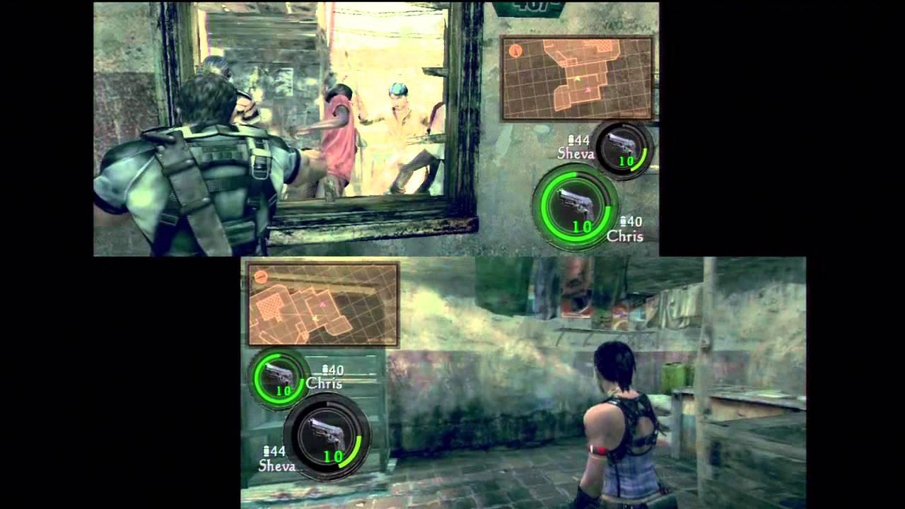 Let S Play Resident Evil 5 Split Screen Co Op Youtube