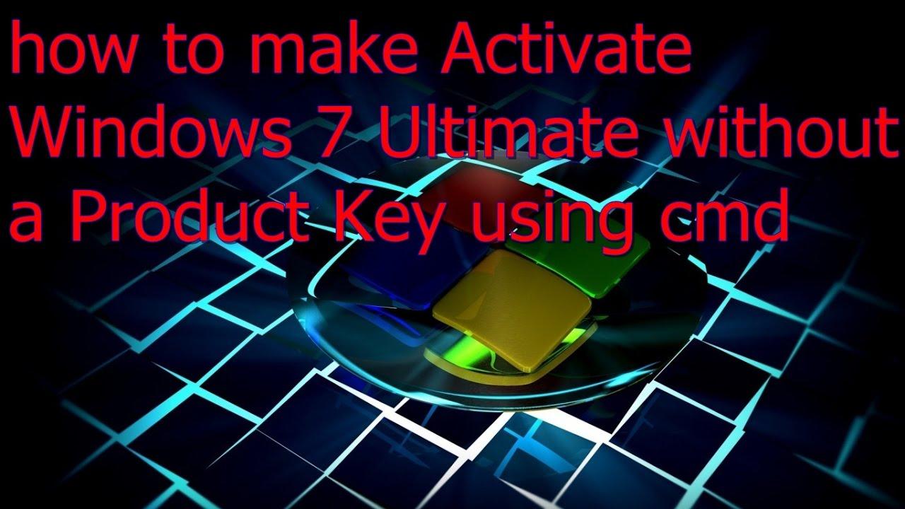 windows 7 ultimate activator cmd