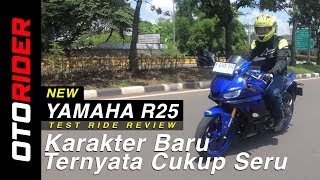 New Yamaha R25 2018 Test  Ride Review Indonesia | OtoRider