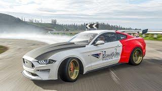 เปลี่ยนมัสแตงเป็นรถไปรษณีย์ไทย Ford Mustang Forza Horizon 4