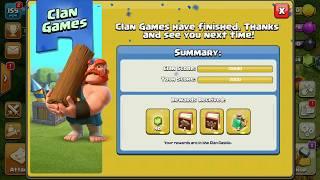 clan games  reward how to use clan games reward using all books [clash of clan]