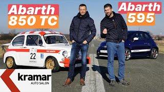 Utrka Škorpiona! Abarth 850 TC vs Abarth 595 - Juraj Šebalj i Miroslav Zrnčević