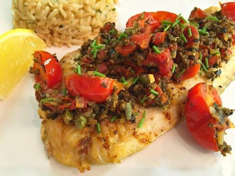 mediterranean-fish-fillet-with-tapenade-recipe---episode-#62