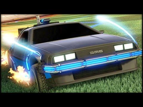 Rocket League - Back to the Future Squad!