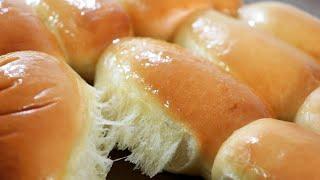 (손반죽)milk bread roll recipe/soft and fluffy milk roll/how to make dinner roll