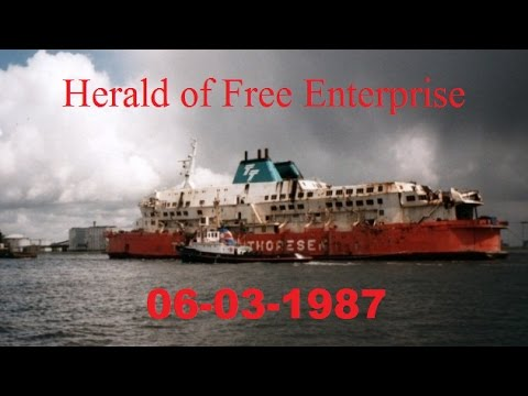 The Herald of Free Enterprise 06-03-1987 - YouTube