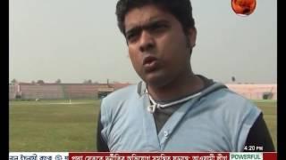 এক পা নিয়েই নিয়মিতই ক্রিকেট খেলছেন সাদ্দাম - CHANNEL 24 YOUTUBE