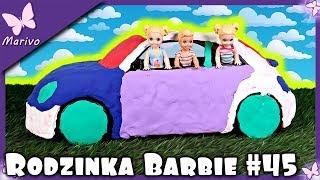DZIECI ROZRABIAJĄ - CO TO ZA MASA? WIELKIE OKLEJANIE! Rodzinka Barbie #45 * Bajka po polsku lalkami