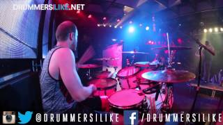 Sam Applebaum - Veil of maya - LEELOO - Live at the culture room  - Presented by Drummersilike.net