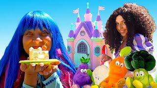 Видео приколы онлайн – Полезные Вкусняшки для Принцесс ДИСНЕЯ! – Весёлые игры одевалки для девочек