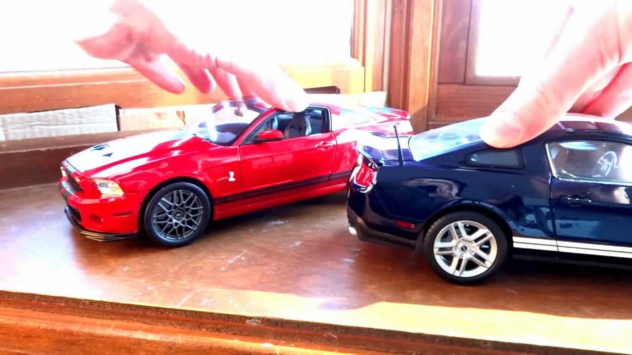 Review of 1 18 shelby gt500 by shelby collectibles 2010 2013 models