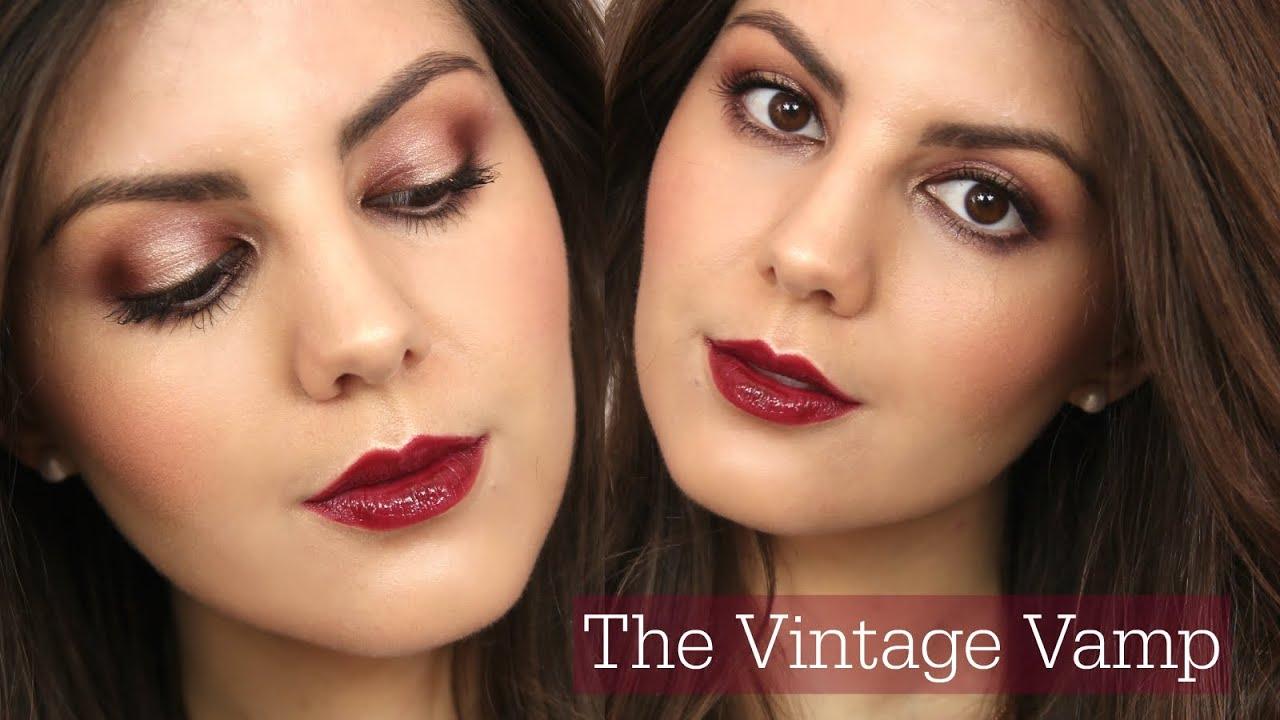 Charlotte Tilbury The Vintage Vamp Makeup Tutorial Youtube