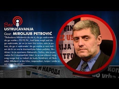 BEZ USTRUČAVANJA - Miroljub Petrović: Svi dosmanlijski lideri su trebali da budu likvidirani!