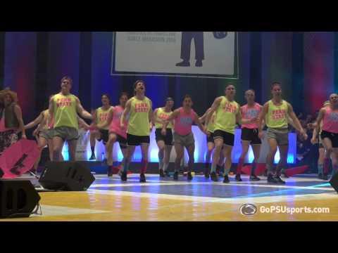 2015 THON Pep Rally Dance - Men's Hockey