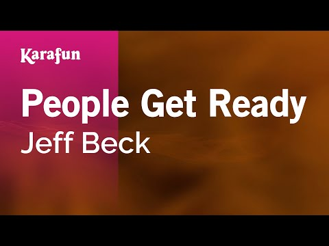 Karaoke People Get Ready - Jeff Beck *