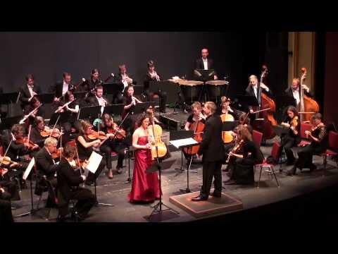 Shirley Brill Performs Schumann Violin Concerto (Arr. A. Tarkmann) II + III