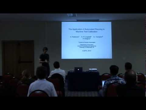 "ICAPS 2012: Session IVa ""Planning and Scheduling in the Real World"""