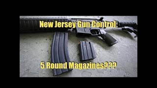 New Jersey Seeks To Limit Magazines To 5 Rounds Next