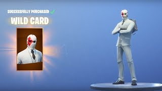 "Fortnite *NEW* ""WILD CARD"" SKIN + NEW CHALLENGES! - High Stakes"
